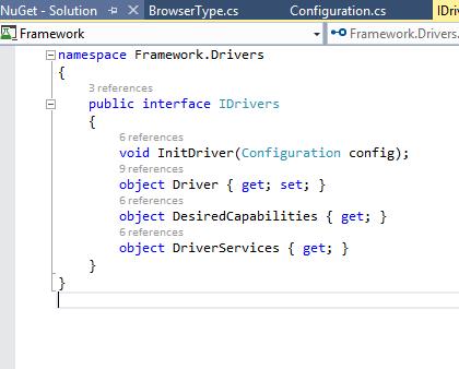 IDrivers Interface